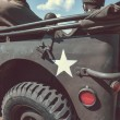 Old us army jeep — Stock Photo #65093031