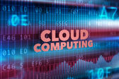 Cloud computing technology concept — Stock Photo
