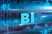 BI technology concept — Stock Photo
