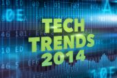 Tech Trends 2014 concept — Stock Photo