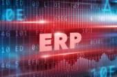 ERP concept — Stock Photo