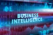 Business intelligence technology concept — Stock Photo