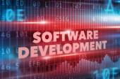 Software development concept — Stock Photo