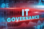 IT Governance concept — Stock Photo