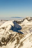 Fragment of the Main Ridge of the Tatras. — Stock Photo