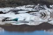 Glaciers and icebergs, Iceland — Stock Photo