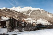 Ski resort of Soelden, Austria — Stockfoto