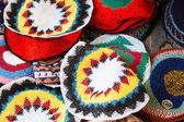 Traditional Jewish yarmulkes — Stockfoto