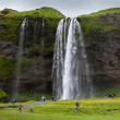 Skogarfoss waterfall, Iceland — Stock Photo #66979017