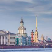 The center of St. Petersburg, Russia — Stock Photo