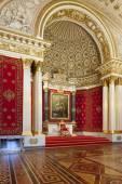 Salão pequeno do trono do Palácio de inverno (hermitage), st.petersbur — Fotografia Stock