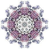 Watercolor flower  element — Stock Vector