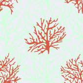 Corals pattern for background — Vector de stock