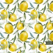 Lemon pattern5 — Stock Vector
