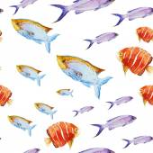 Nice fishes — Stock Vector