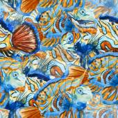 Bel pesci — Vettoriale Stock