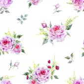 Nice rose pattern — Vettoriale Stock