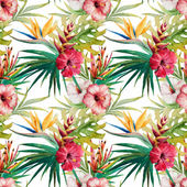 Tropical pattern — Stock Vector