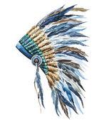 American native hat — Stock Vector