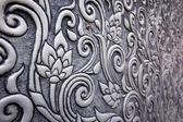 Silver Thai pattern — Stock Photo