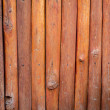 Old orange,brown log wall texture — Stock Photo #58027715