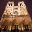 Notre Dame de Paris at Night — Stock Photo #64036253