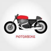 Vector motorbike — Stock Vector