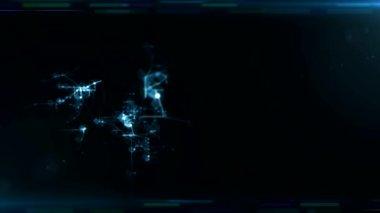 Digital background — Stock Video