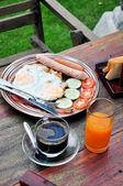 Kahvaltı seti — Stok fotoğraf