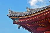 Japan Oriental roof - Stock Image — Stock Photo