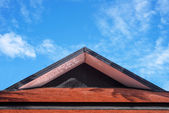 Roof gable Thai style — Stock Photo