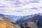 Mountain view of  Franz Josefs Hohe Glacier, Hohe Tauern National Park, Austria — Stock Photo