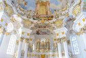 Wieskirche church in bavaria, Germany, Europe — Stock Photo
