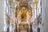Wieskirche church in bavaria, Germany, Europe — Stock Photo