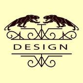 会标的设计元素,优雅的模板。优雅的线条艺术标志设计。商业发展的标志,身份为餐厅、 版税、 精品、 咖啡厅、 酒店、 Heraldic、 珠宝、 时尚、 酒。矢量图 — 图库矢量图片