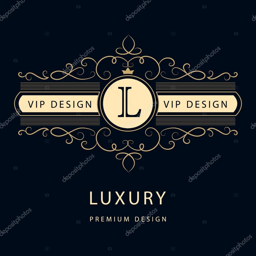 Luxury Thai Restaurant Logo