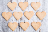 Cookies for love — Stock Photo