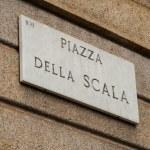 Piazza della Scala — Stock Photo #58700625