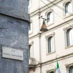 Milan via Montenapoleone — Stock Photo #58707371