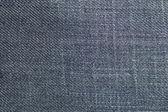 宏拍摄的蓝色牛仔裤模式 — 图库照片