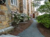 Detail, Protestant chapel, Milton, Massachusetts — Stock Photo