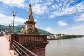 Old bridge in Heidelberg in Germany — Stock Photo