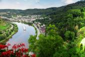 Cochem on the Moselle river — 图库照片