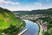 Cochem on the Moselle river — Stock Photo