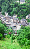 Funicular, cable railway in Cochem on the Moselle — Стоковое фото