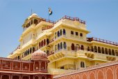 Chandra Mahal in Jaipur, India — Stock Photo