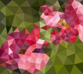 Abstract background from flowers — Stockvektor