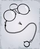 Drawing of Antique eyeglasses — Vecteur