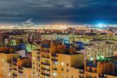 St. Petersburg at night — Stock Photo