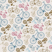 Bicycle texture — Stock Vector